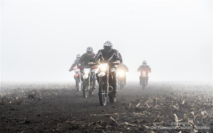 De essentocht ging bijna niet door vanwege de dichte mist