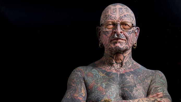 Hugo Goorhuis ziet zijn tatoeages als 'kunst op de huid'.