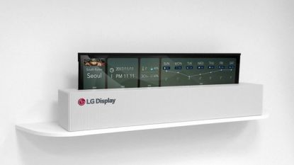 Gerucht: LG gaat volgend jaar tv met oprolbaar scherm uitbrengen