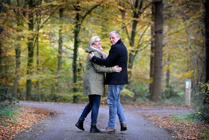 Lyanne en Erik Paskamp. Veteranen-echtpaar uit Goor.