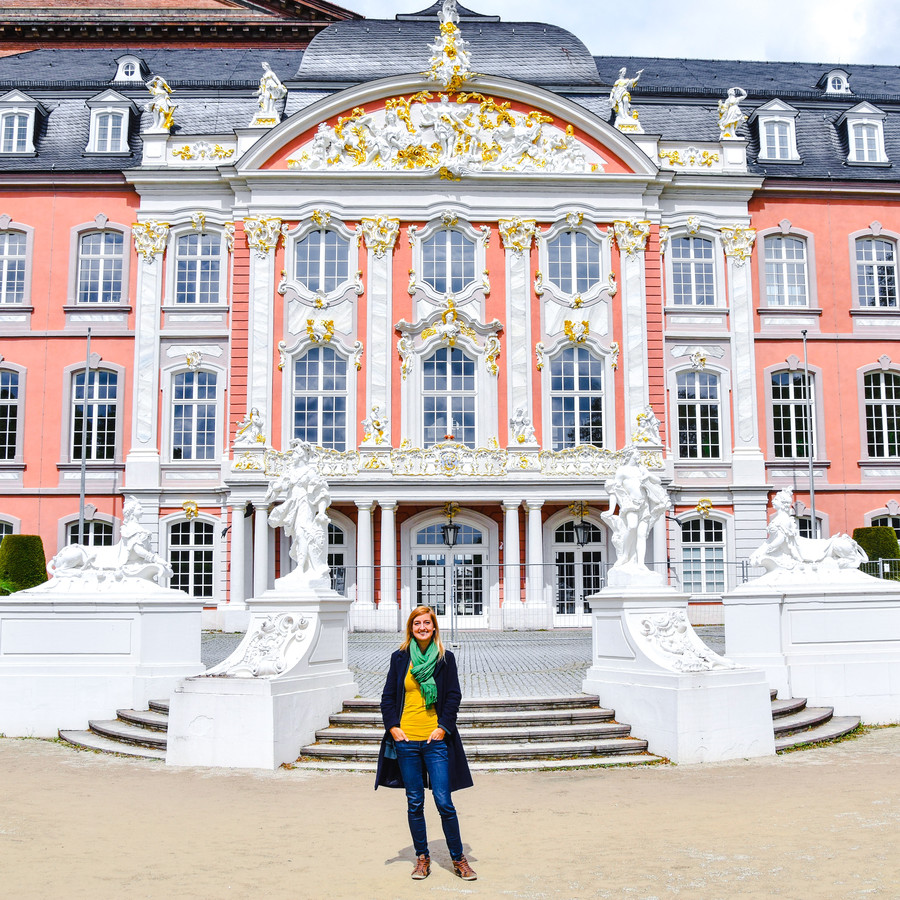 Anne in Trier.