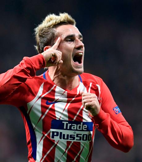 Atlético Madrid grijpt laatste strohalm dankzij wereldgoal Griezmann