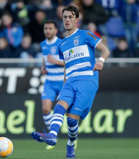 Beloften PEC Zwolle knokken zich in de slotfase terug bij rentree Lam
