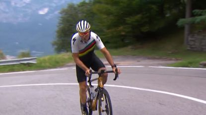 """Johan Museeuw verkent finale Ronde van Lombardije: """"Ja, Remco Evenepoel gaat winnen"""""""