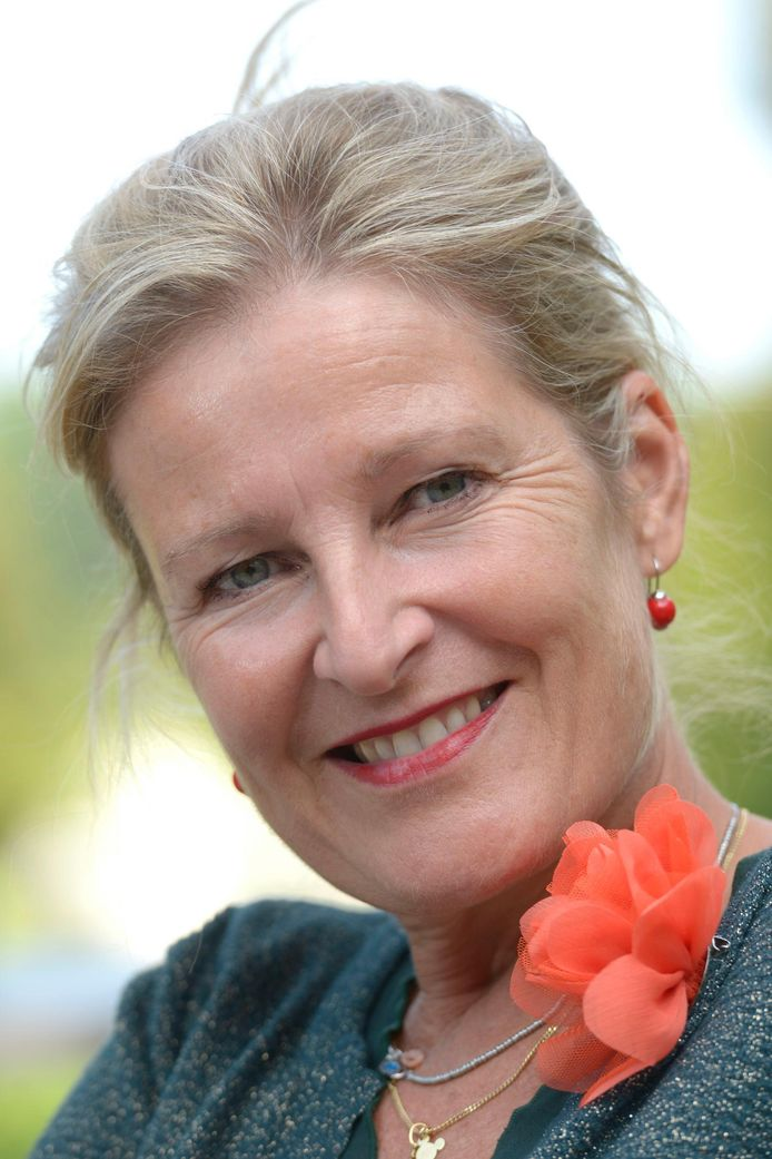Actrice Veerle Eyckermans.
