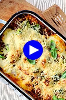 Une lasagne plus riche en légumes? Préparez cette variante belge du grand classique