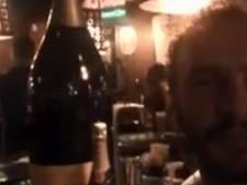 Luiten trekt 15 liter fles open na toernooizege