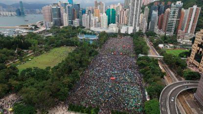 Protestbeweging Hongkong wil 1 miljoen mensen op de been brengen bij nieuwe, verboden mars