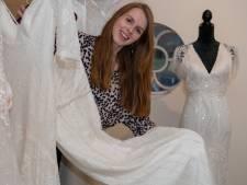 Myrna (23) opent bruidsboetiek in aspergeboerderij van ouders in Diffelen