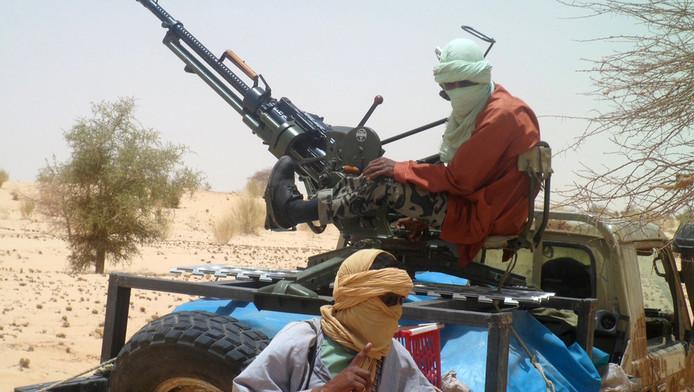 Islamitische rebellen in Mali.