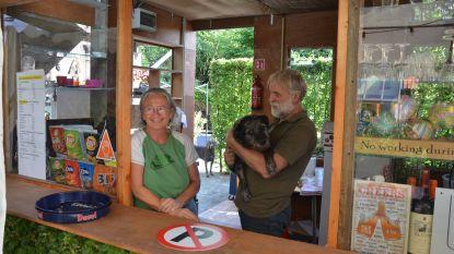 Genieten tussen kunst: Koenraad Rossaert opent expoterras in tuin