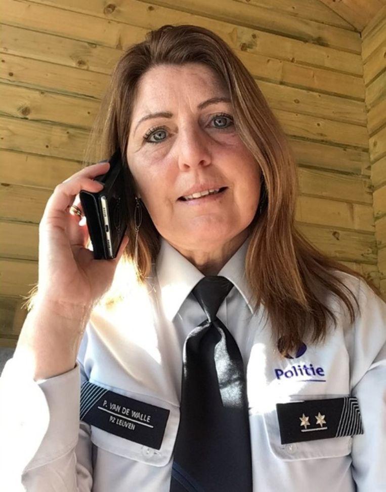 Senioreninspecteur Patricia Van de Walle.