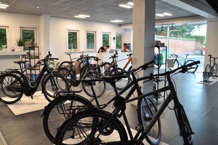 Fietswinkel Grand Départ verhuisde al acht maanden na de opening.