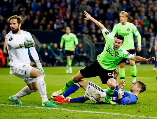 Nick Viergever met de belangrijkste goal uit z'n loopbaan.