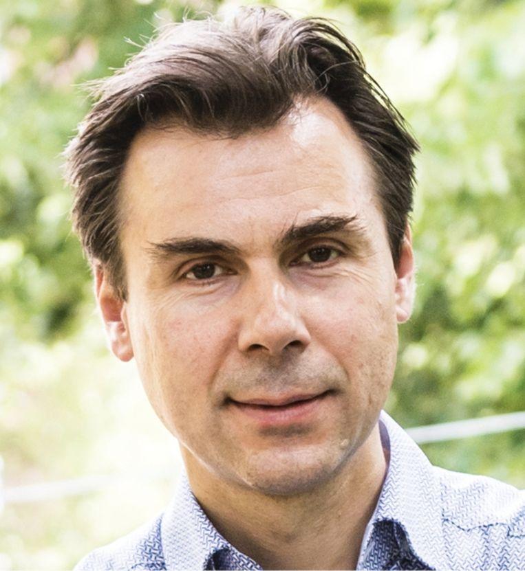 Patrick Willems: 'Ons kraantjeswater is van hoge kwaliteit. Het is waanzin om dat te gebruiken om de wc door te spoelen.' Beeld