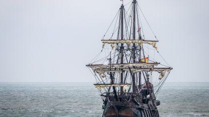 Majestueus Spaans galjoen vaart haven binnen: dé blikvanger van 'Oostende voor Anker'