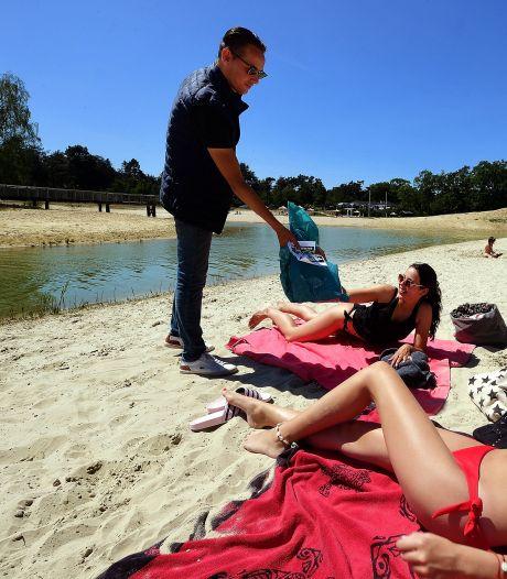 Vuilniszakkenactie bij De Heide: 'bezoekers ruim je eigen rotzooi op'