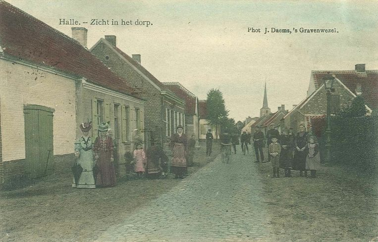 Halle-Dorp in 1910