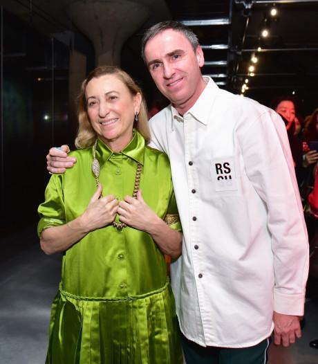 Prada annonce l'arrivée du créateur belge Raf Simons