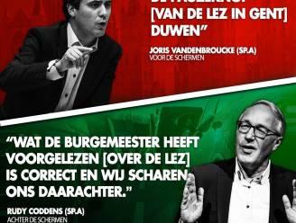 Vlaams Belang kotert ruzie over LEZ op via affichecampagne met sp.a-kopstukken