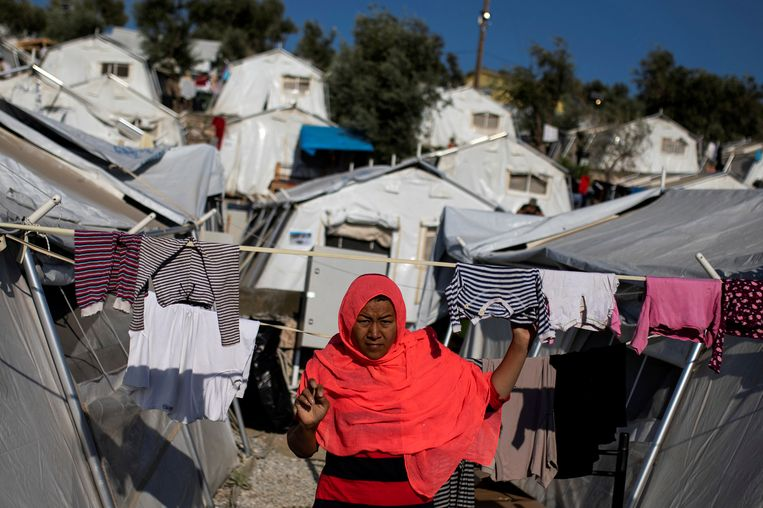 Humanitaire organisaties hekelen al jaren de verblijfsomstandigheden in Moria.