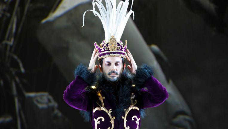 Juan Sancho als koning Cosroe in Siroe, re di Persia. Beeld Nienke Elenbaas
