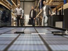 Voor niks gaat de zon op;  Tenten Solar in Lichtenvoorde profiteert ervan en is nu miljoenenbedrijf