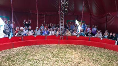 Bewoners Wispelaere genieten van circus