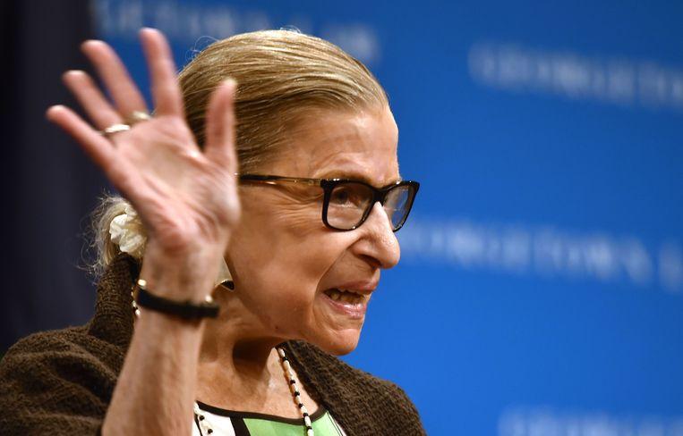 Ruth Bader Ginsburg (86) is de oudste rechter in het Amerikaans Hooggerechtshof.