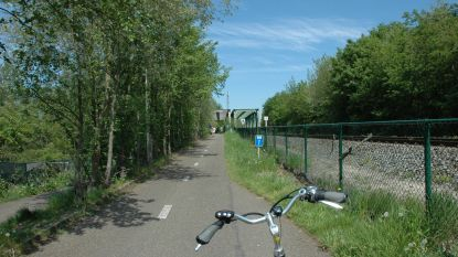 Fietspad tussen spoorwegbrug en Achel wordt verlicht