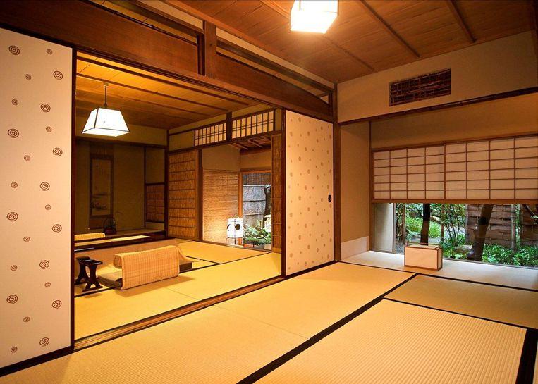 Het Tawaraya Hotel in Kyoto. Beeld