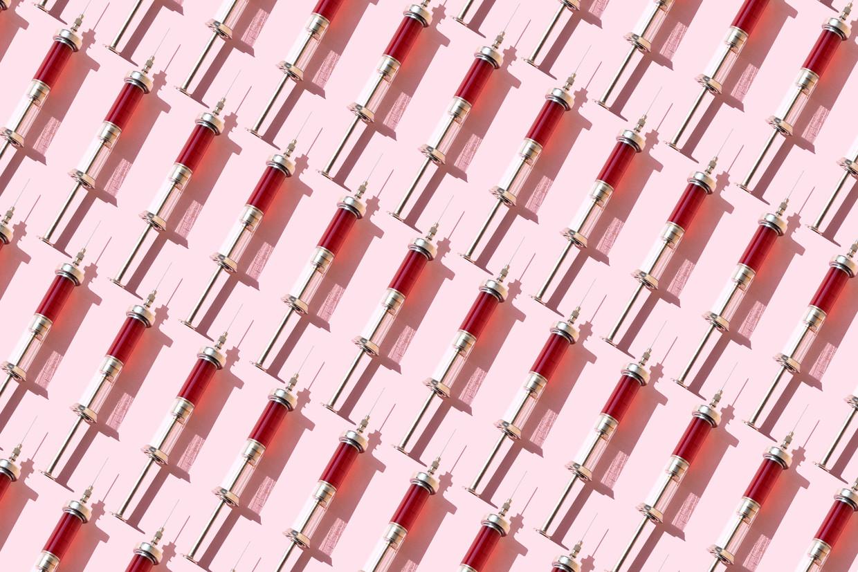 Zes bedrijven zijn in de race om snel een werkend coronavaccin op de markt te brengen. Beeld Getty Images