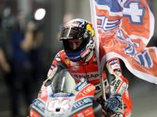 Dovizioso wint openingsrace MotoGP in Qatar
