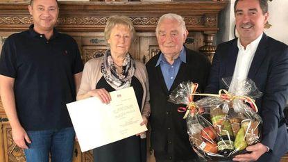 Gouden huwelijk voor familie Hendrickx