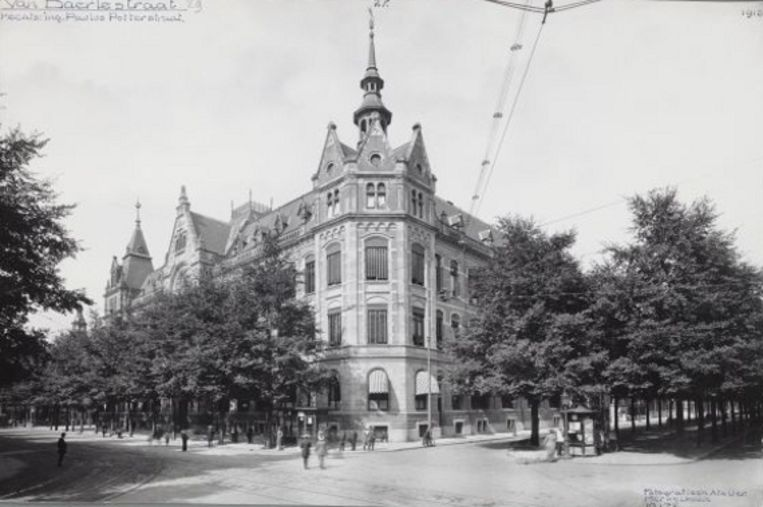 De Rijkspostspaarbank in 1907. Foto Stadsarchief Beeld