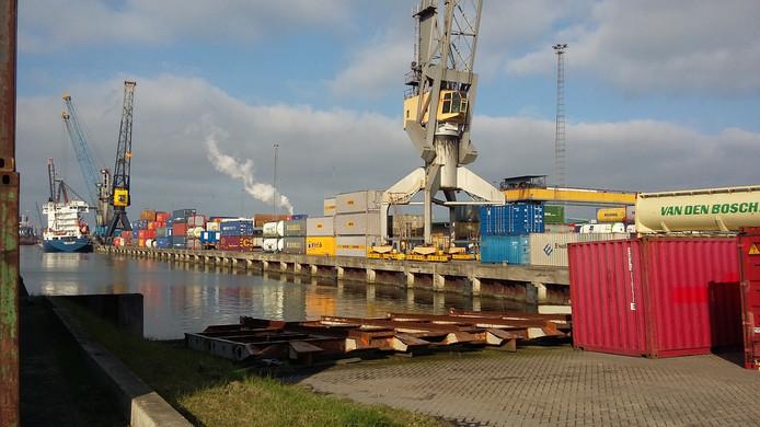Het havengebied in Moerdijk was zaterdag voor het eerst in 8 jaar weer open voor publiek.