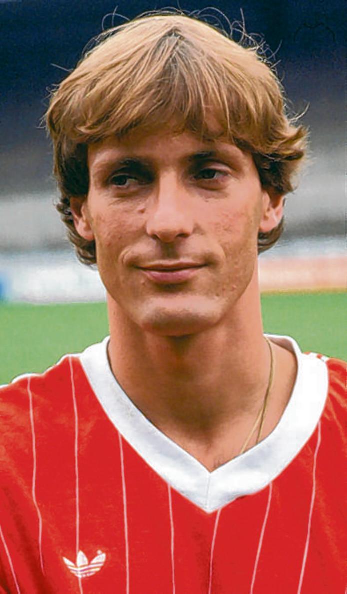 Jan Poortvliet scoorde twee keer in het kampioensduel van PSV.