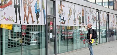 Stripmuseum hield het nog net geen heel jaar vol