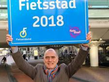 Houten apetrots op titel Fietsstad 2018