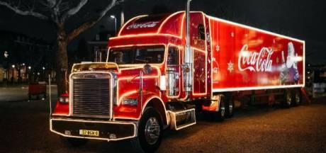 De Coca-Cola kersttruck komt naar het Bergs Winterparadijs