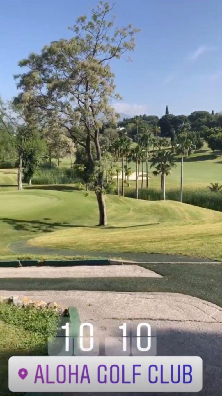 Golfen in Marbella.