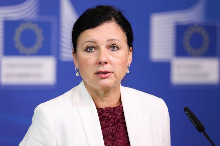 Eurocommissaris Vera Jourova.
