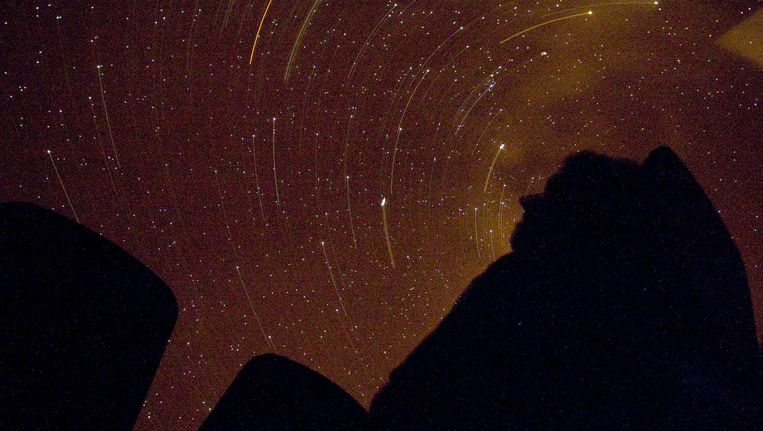 De onderzoekers hebben sterren onderzocht in een nabijgelegen sterrenstelsel Beeld anp