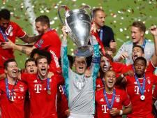 Bayern-uitblinker Neuer lyrisch: 'Ik heb nog nooit in zó'n leuk team gespeeld'