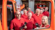 Op open deur van brandweerpost Kluisbergen gaan bezoekers ook zelf aan de slag