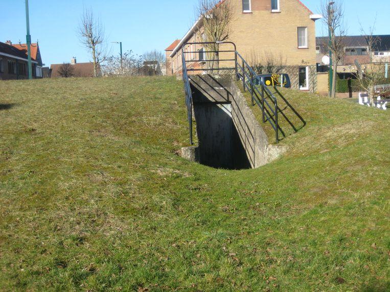 Schuilbunker 'Repos Sint-Elisabeth' in De Panne.