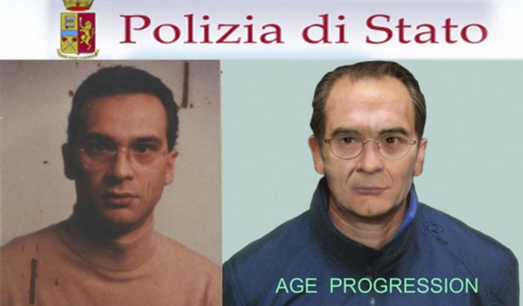 Maffiabaas Matteo Messina Denaro is al 25 jaar op de vlucht.