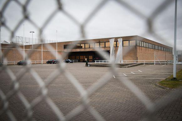 De gevangenis van Brugge, waar de man  zijn celgenoot bewerkte met een pot oploskoffie en de scherven ervan.