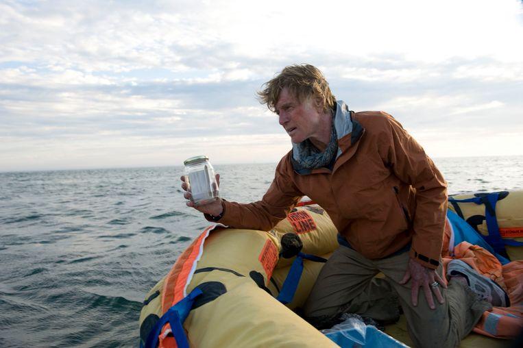 Robert Redford in All Is Lost (2013).  Beeld