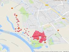 Geen stroom in deel Zwolle-Zuid